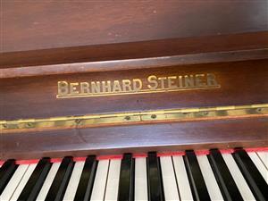 BERNHARD STEINER PIANO FOR SALE