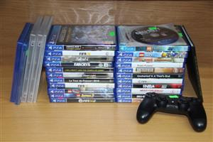 PS4 Games and accessories sold separately