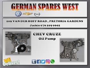CHEV CRUZE OIL PUMP