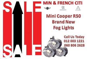 Mini Cooper R50 fog lights  For Sale