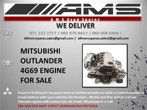 MITSUBISHI 4G69 ENGINE
