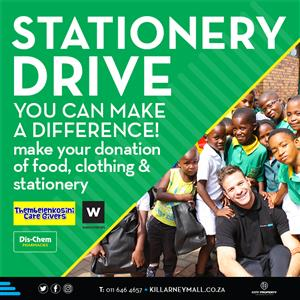 Killarney Mall 2020 Stationery Drive