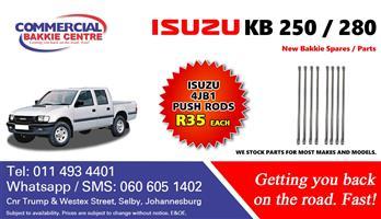 isuzu 4jb1 push rods