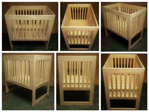 Nursery Baby Cot Interim Farmhouse series 1000 Raw