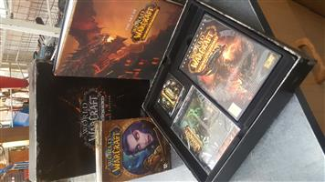 WORLD OF WARCRAFT CATACLYSM COLLECTOR'S EDITION BOX