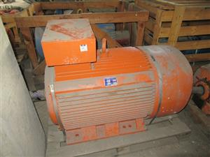 132kW, 380v, 4 Pole, Foot Mounted Electrical Motor - ON AUCTION