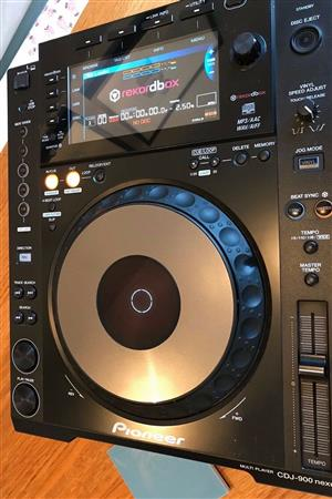 New and fairly used cdj 900