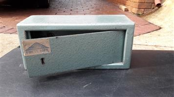 Small steel safe