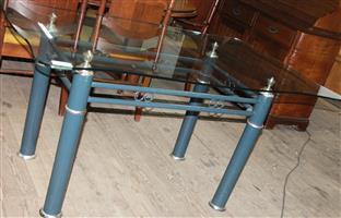 S034617B Glass dining room table #Rosettenvillepawnshop