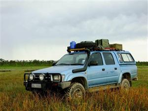 2001 Toyota Hilux 3.0D 4D double cab 4x4 Raider