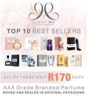 Branded Perfume Boxed and sealed