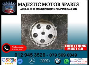 Audi A4 B8 2012 power steering pump for sale
