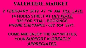 Valentine Market - 2 February 2019.