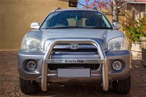 2005 Hyundai Santa FE Santa Fe 2.7 V6 GLS