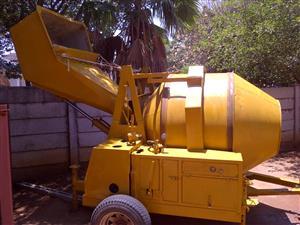 CM 750 Selfloading concrete mixers