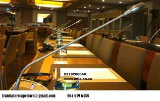 Conference equipment for hire