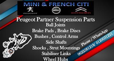 Peugeot Partner Suspension Parts