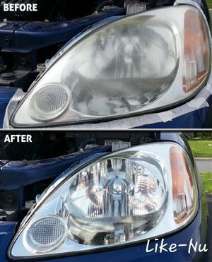 Headlights restoration & Reglaze