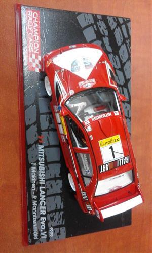 Mitsubishi Lancer racing car