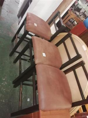 Selling second hand bar chairs