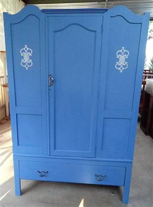 Lovely old refurbished linen/utility cabinet or wardrobe