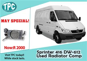 Mercedes Benz Sprinter 416 Used Complete Radiator for Sale at TPC