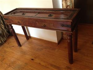 INDONESIAN FURNITURE CONSOLE/SIDEBOARD/JEPARA =  R9300  —  Call  083 460 4858