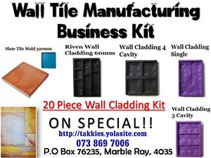 Floor Tile Manufacturing Business for Sale R3500
