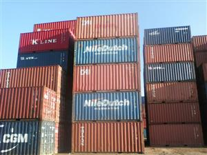6m good quality wind and watertight shipping containers