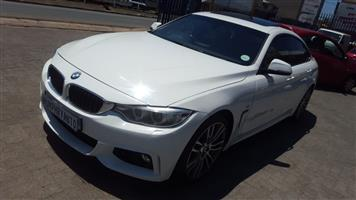 2015 BMW 4 Series 420d Gran Coupe sports auto