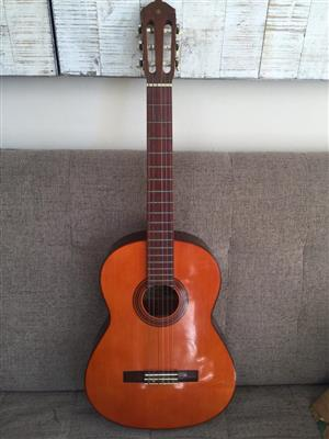 Yamaha G55A Acoustic Nylon Guitar - see some slight marks front and back