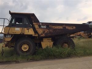 CAT 769 Dump Truck