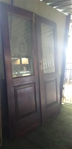 2nd 1.5 m by 2.1 m double door cheap!!