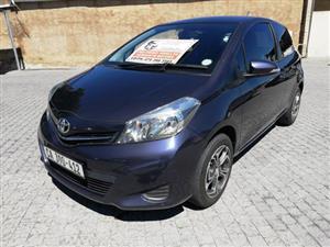 2013 Toyota Yaris 3 door 1.3 Xi