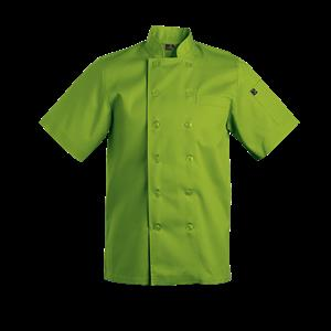 Savona Short Sleeve Chef Jacket - Lime