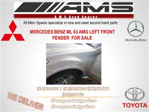 MERCEDES BENZ ML 63 AMG LEFT FRONT FENDER FOR SALE