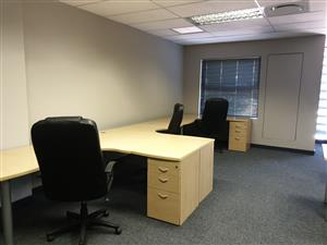 40- 100m furnished offices with shared reception and boardrooms