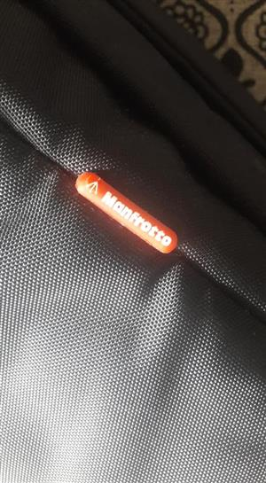 Manfrotto black camera bag