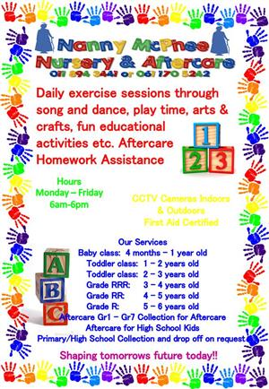 Daycare and Aftercare Impala Park Boksburg
