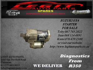 SUZUKI SX4 STARTER FOR SALE