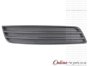 Audi A3 09-12 Right Hand Side Front Bumper Grille Without Fog Light Holes