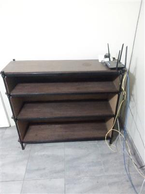 Varnished Homemade Bookcase