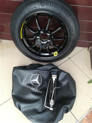 A250 and C250 Space Saver Biscuit Spare Wheel kit R4950