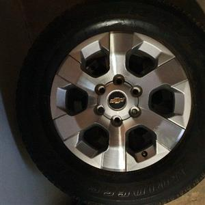 Chevrolet Trailblazer mags and tyres