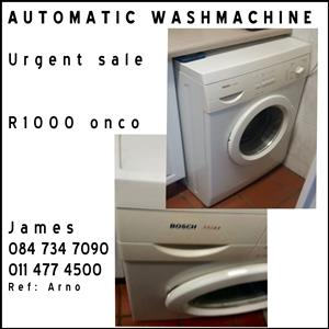 """Bosch"" AUTOMATIC WASHMACHINE"