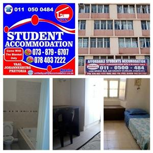 STUDENT ACCOMMODATION IN PRETORIA (CBD)