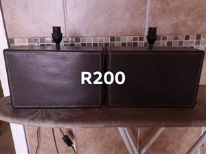 2x Lamps for sale