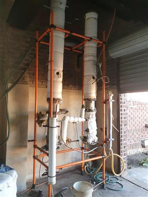 Continuous reflux distilling colomns*price reduced*