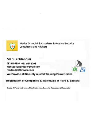 WE OFFER THE FOLLOWING SECURITY RELATED SERVICES