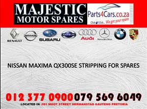 Nissan Maxima used spares for sale